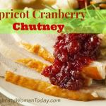 Apricot Cranberry Chutney Day 7 #12DaysOf