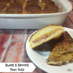 Sweet & Savory Ham Rolls Recipe with Weight Watchers Smart Points!
