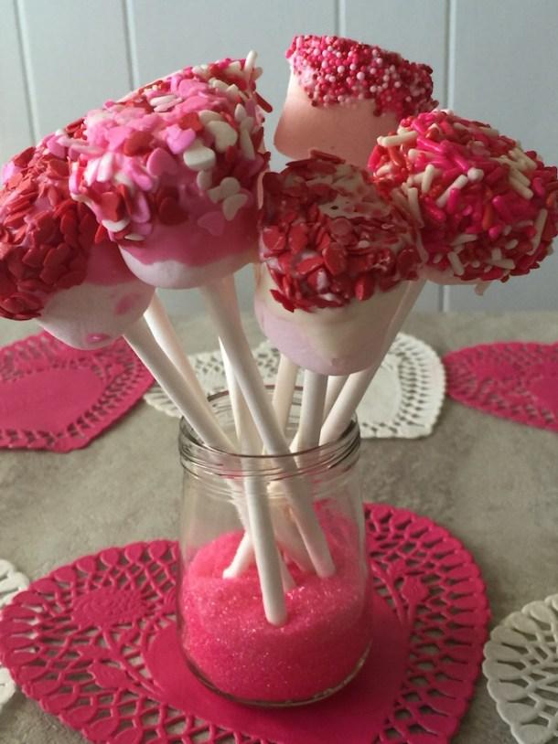 Easy Marshmallow Pops Recipe!   Just Plum Crazy