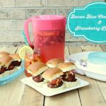 Bacon Blue Cheese Sliders Recipe Day 5 #12DaysOf