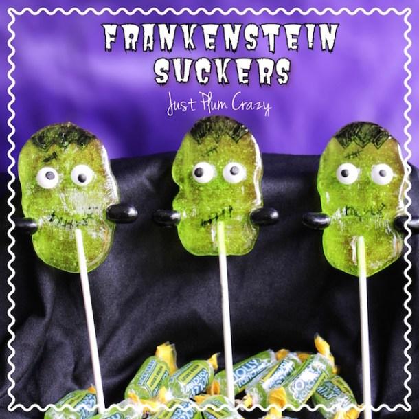 Easy Jolly Rancher Frankenstein Suckers Recipe