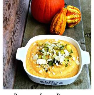Pumpkin Spice Polenta Recipe Day 9 #12DaysOf