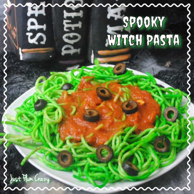 Spooky Witch Pasta Recipe