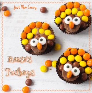 Reese's Turkeys Recipe and Free Printable Thanksgiving Word Find Download