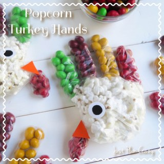 Popcorn Turkey Hands Recipe