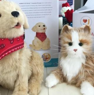 JOY FOR ALL™ Companion Pets! #JoyForAll #IC #ad @JoyForAll
