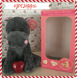 My Baby's Heartbeat Bear #JPCHGG16 #JustPlumCrazy @Heartbeat_Bear