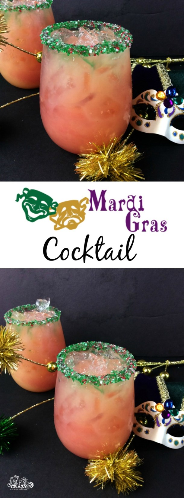 No matter if you celebrate Mardi Gras, Fat Tuesday, Shrove Tuesday or Paczki Day (yes, I am Polish!), this Mardi Gras Cocktail recipe is perfect it.