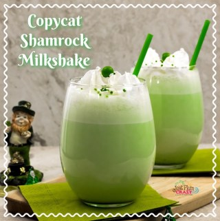 Copycat Shamrock Milkshake Recipe