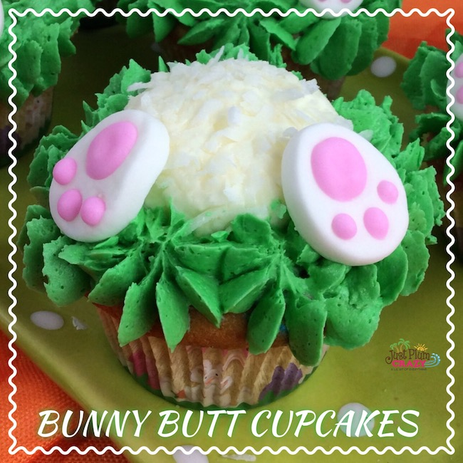 Easter Bunny Butt Cupcakes Recipe