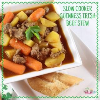 Slow Cooker Guinness Irish Beef Stew Recipe
