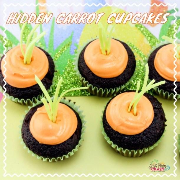 Hidden Carrot Cupcakes Recipe