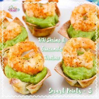 Weight Watchers Shrimp and Guacamole Wontons Recipe – SP – 3 #WeightWatchers #SmartPoints #NationalShrimpDay