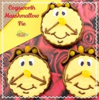 Cogsworth Marshmallow Pie Recipe from Beauty and The Beast #BeOurGuest