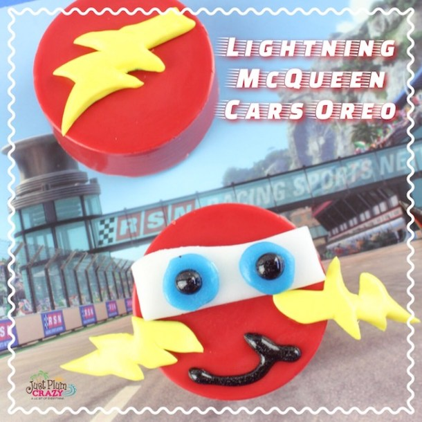 With the release of Cars 3 in theaters this past week, how about a Lightning McQueen Cars Oreo Recipe to go with it. Check out our other Cars 3 posts.
