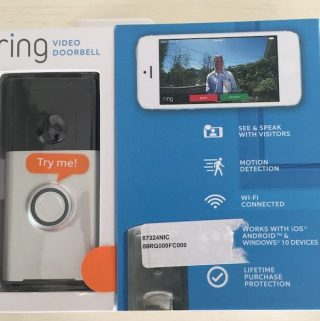 Never Miss a Visitor Again with Ring Video Doorbell