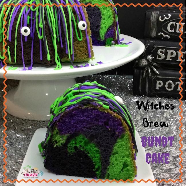 Witches Brew Bundt Cake Recipe