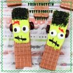 Frankenstein Wafer Cookie Treats