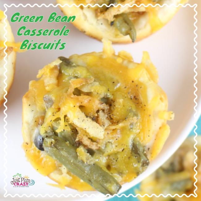Green Bean Casserole Biscuits Recipe