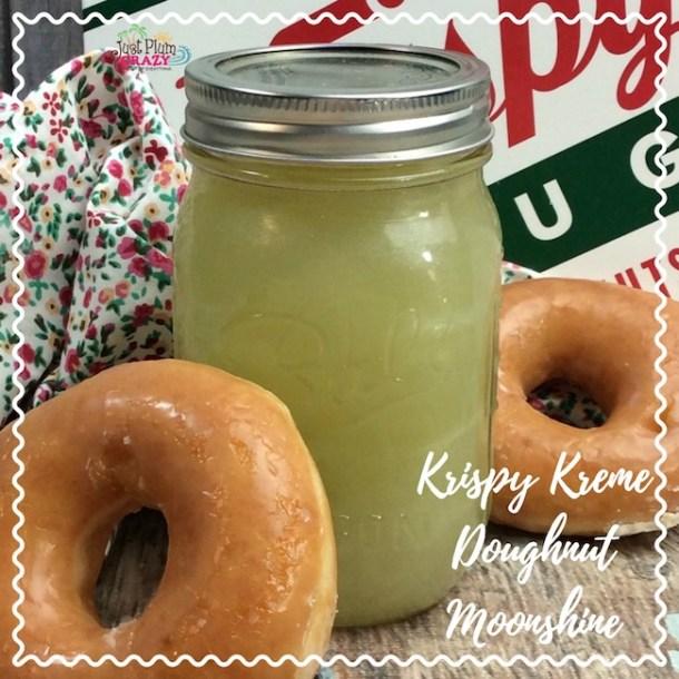Krispy Kreme Glazed Doughnut Moonshine Recipe #NationalGlazedDoughnutDay