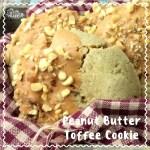 Peanut Butter Toffee Cookie Recipe