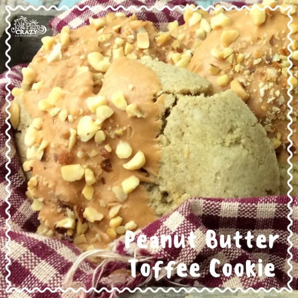 Peanut Butter Toffee Cookie Recipe