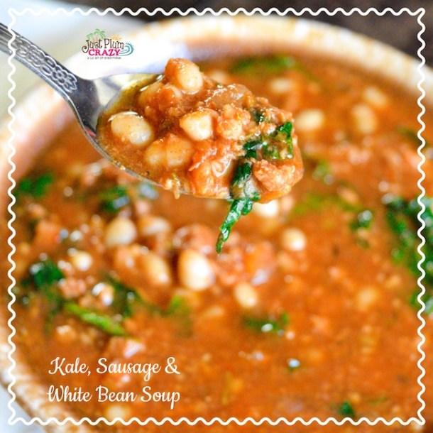 Kale, Sausage and White Bean Soup Recipe