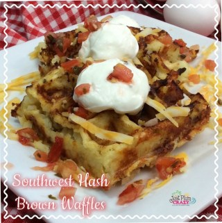Southwest Hash Brown Waffles Recipe
