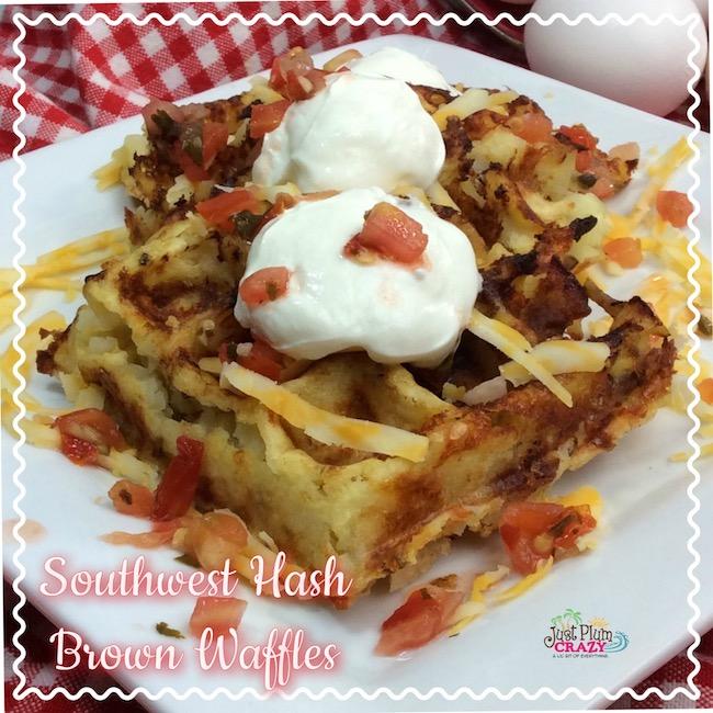 Southwest Hash Brown Waffles Recipe