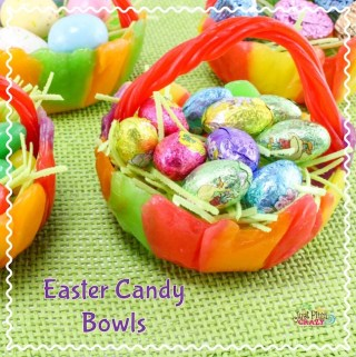 Fun Easter Candy Bowls Recipe