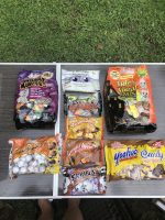 At Palmer Candy Shoppe you can also find all your favorite candy like homemade brittle, gourmet truffles, roasted nuts and more as well as Halloween candy.