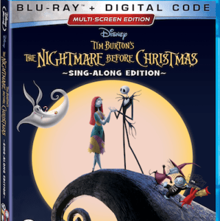 Disney Halloween Movies Blu-ray DVD Holiday Edition