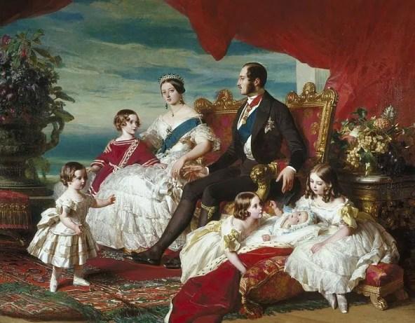 Le couple et leurs enfants