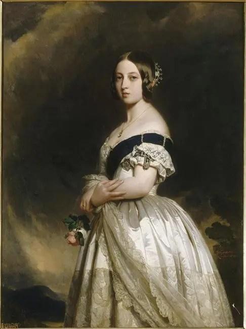 La Reine Victoria dans ses jeunes années