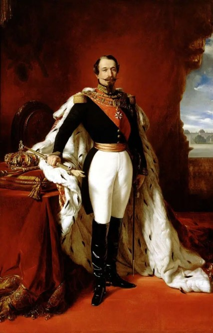 Napoléon III en pied par Winterhalter
