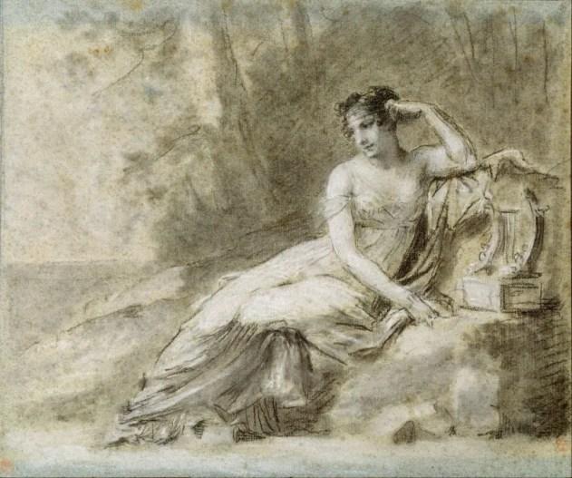 Etude du portrait de l'Impératrice Joséphine par Prud'hon