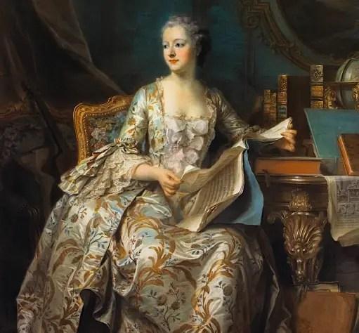 Madame de Pompadour – Evelyne Lever