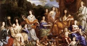 L'Assemblée des dieux : la famille de Louis XIV, par Jean Nocret