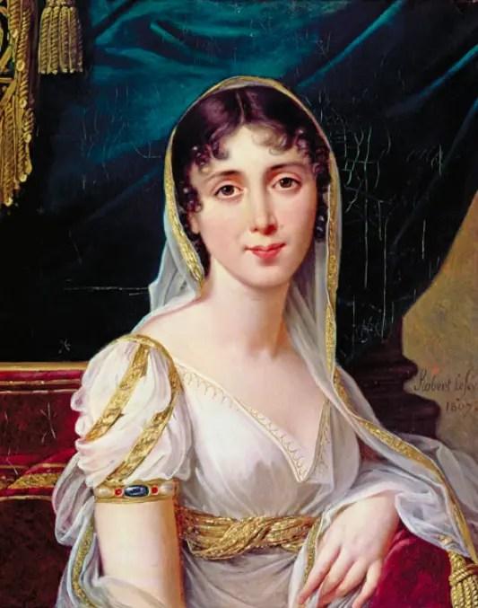 Désirée Clary par Robert Lefevre en 1807
