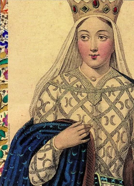 Détail d'une illustration représentant Aliéner (d'après une gravure médiévale)