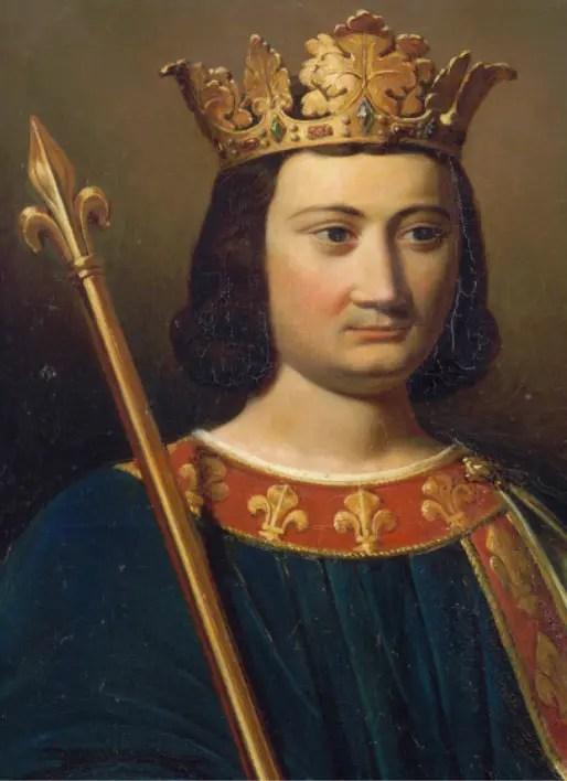 Portrait de Philippe IV le Bel, conservé au château de Versailles