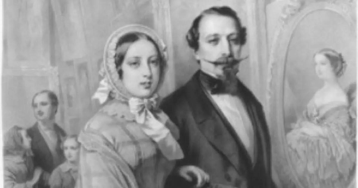 La Reine Victoria sous le charme de Napoléon III