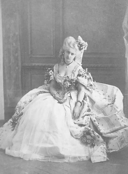 La marquise Mathilde (1861 - 1867) Virginia de Castiglione par Pierson
