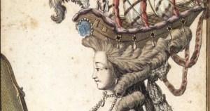 La mode des poufs à la Cour de Marie-Antoinette