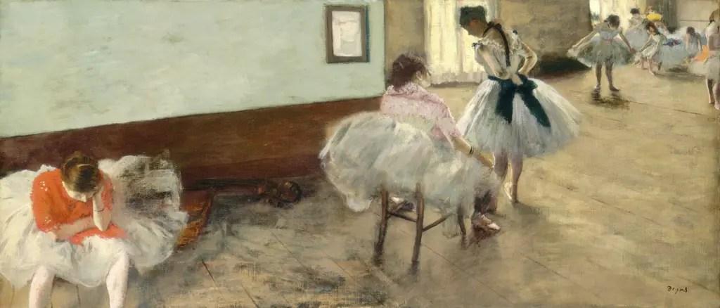 La leçon de danse, par Edgar Degas (1879, National Gallery of Art, Washington)