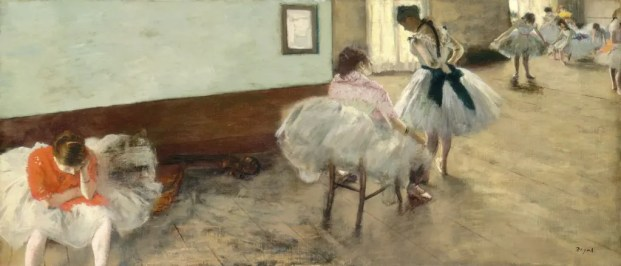 La leçon de danse, par Edgar Degas (1879, National Gallery of Art, Washington)