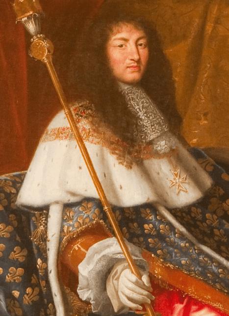 Louis XIV en 1667 par Henri Testelin (collections du Musée de Versailles)