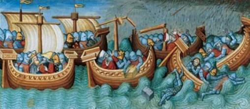 la vision de la mer au Moyen-Âge