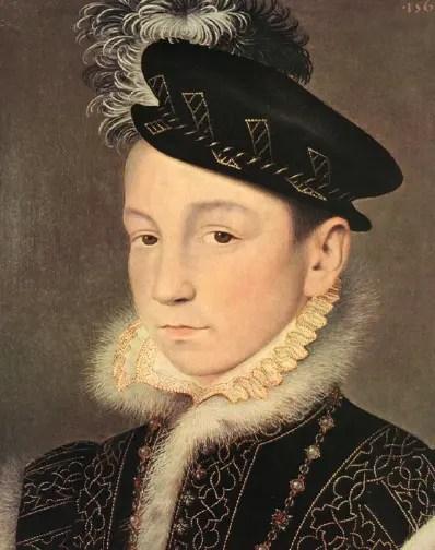 Charles IX en 1561, Kunsthistorisches Museum, Vienne