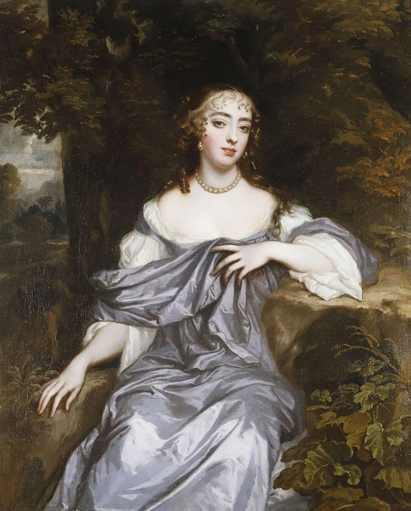 Frances Brooke, Lady Whitmore, peinte par Peter Lely pour la collection des Windsor Beauties